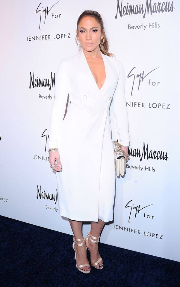 Jennifer Lopez & Giuseppe Zanotti - Shoe Collection 2017 (26.01.2017)
