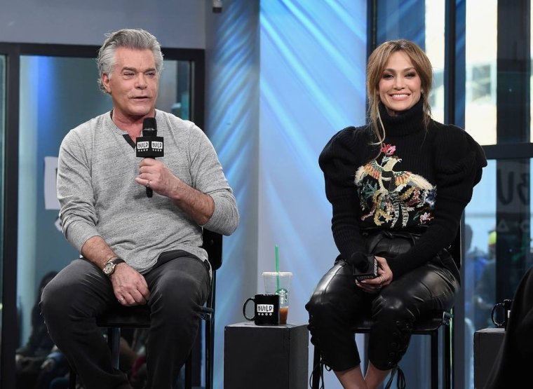 "Jennifer Lopez le 02.03.2017 sur le plateau ""Build Series"""