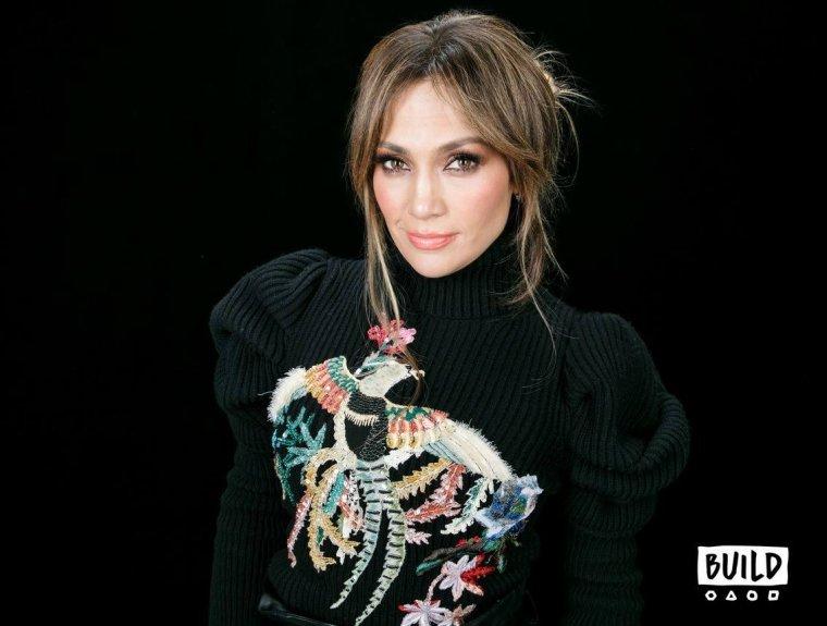 """Jennifer Lopez le 02.03.2017 sur le plateau """"Build Series"""""""