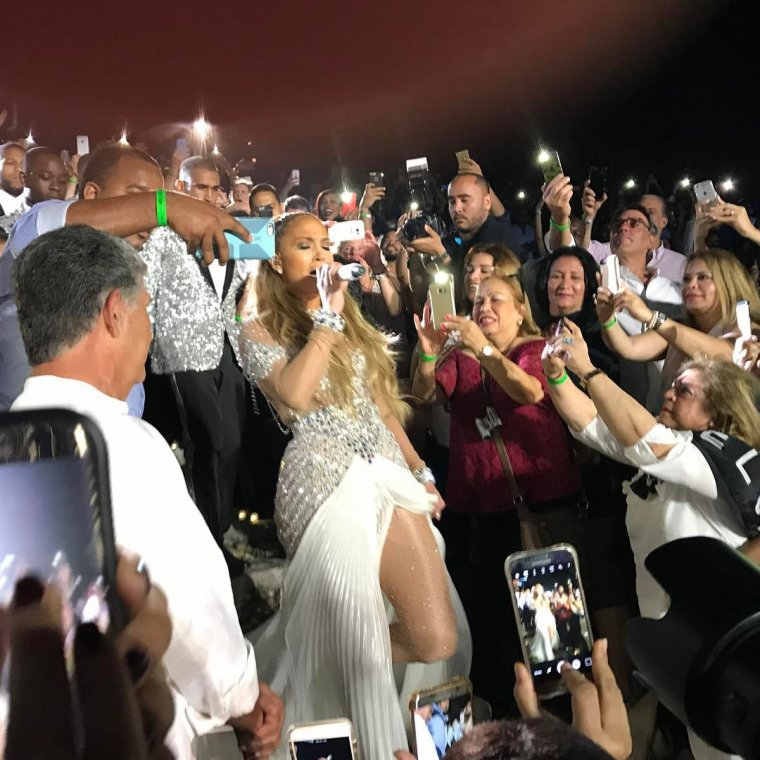Jennifer Lopez - Live at Chavon le 15.04.2017