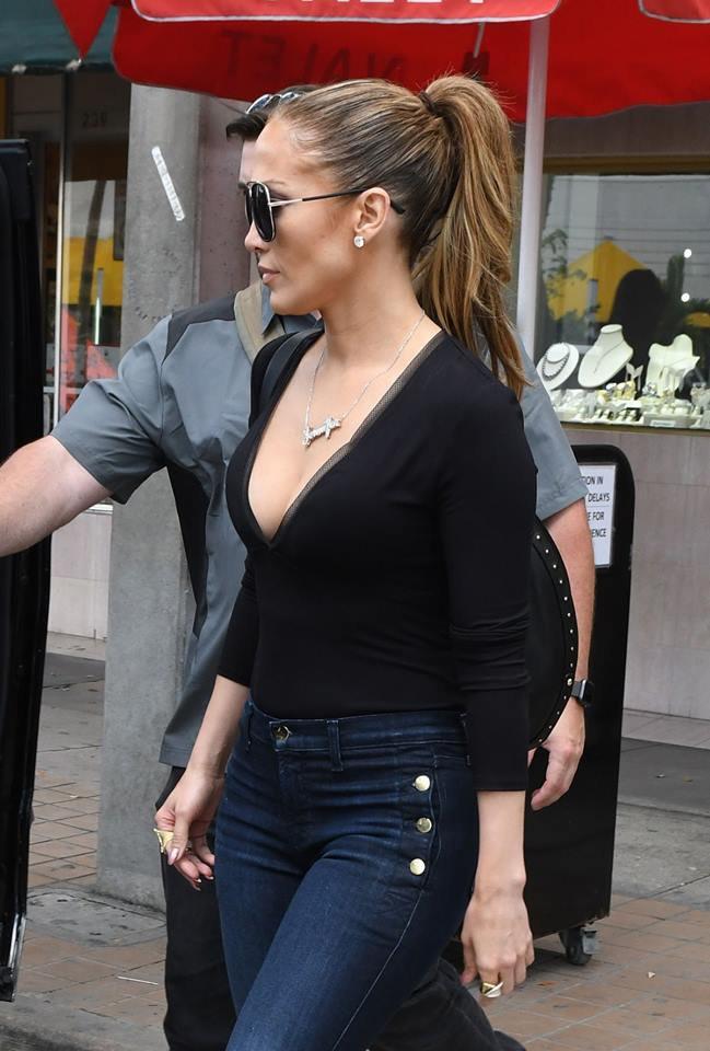Jennifer Lopez à Miami le 19.04.2017