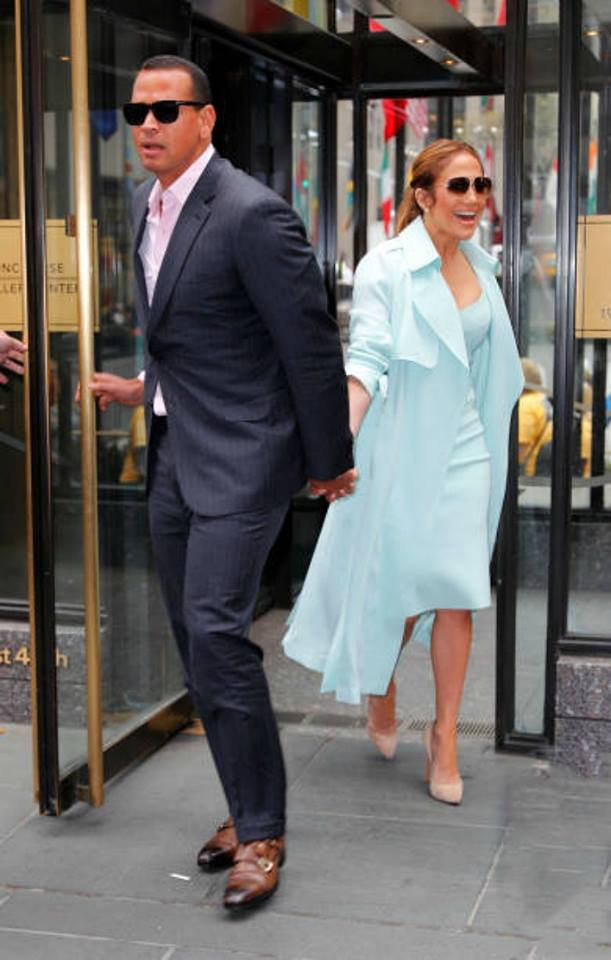 J.Lo & Alex Rodriguez à New York le 24.04.2017