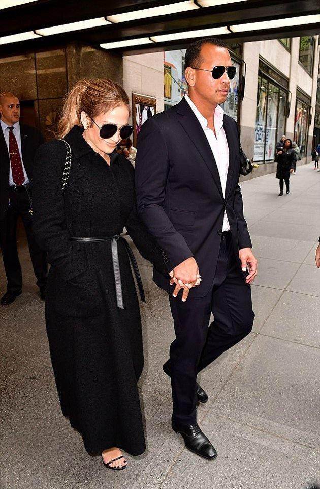 J.Lo & Alex Rodriguez à New York le 24.04.2017