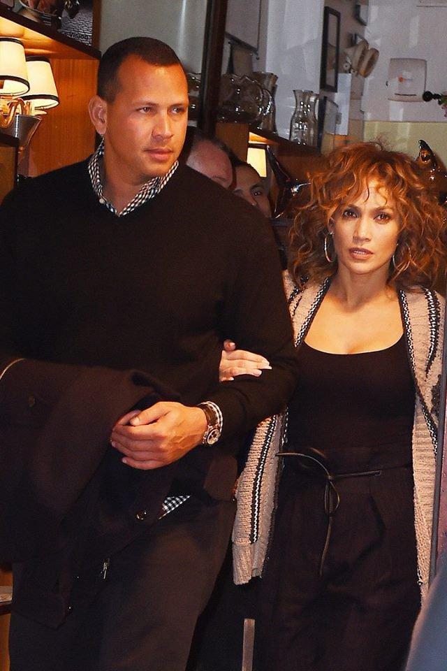 Jennifer & Alex Rodriguez à New York le 30.04.2017