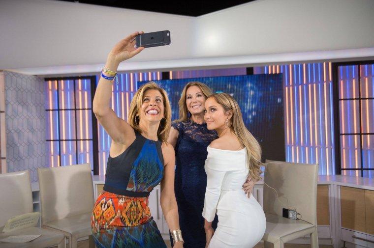 """Jennifer arrivant sur le plateau du """"Today Show"""" le 08.05.2017"""