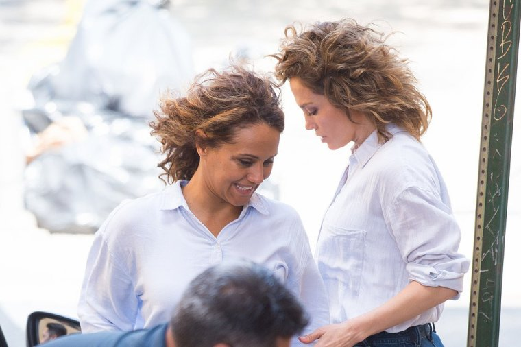 "Jennifer sur le set de ""Shades Of Blue"" le 19.06.2017"