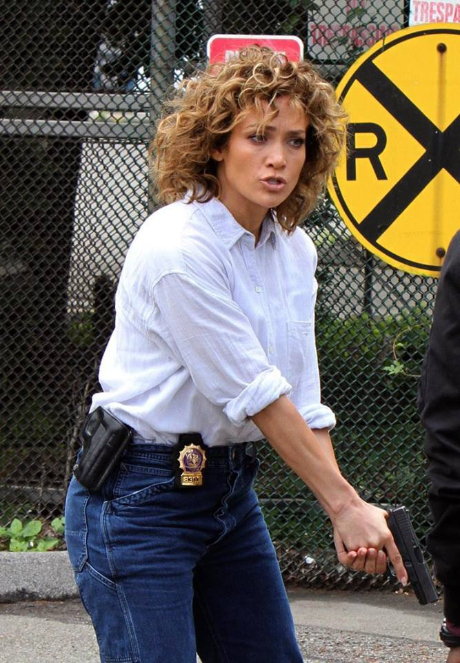 "Jennifer sur le set de ""Shades Of Blue"" le 26.06.2017"