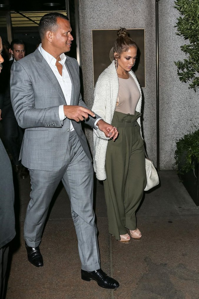 Jennifer & Alex Rodriguez le 27.07.2017