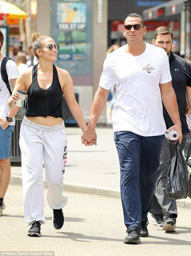 Jennifer & Alex à New York le 28.07.2017