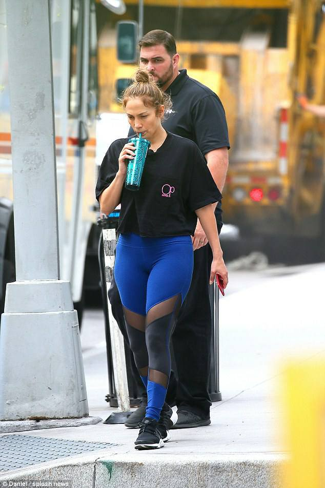 Jennifer à New-York le 08.08.2017