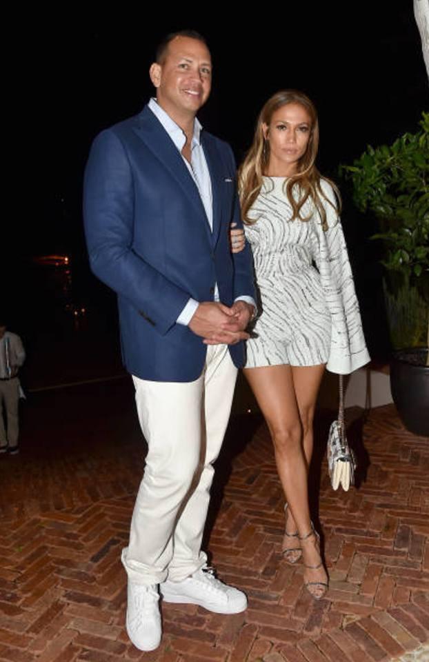 Jennifer & Alex Rodriguez dans les Hamptons le 12.08.2017