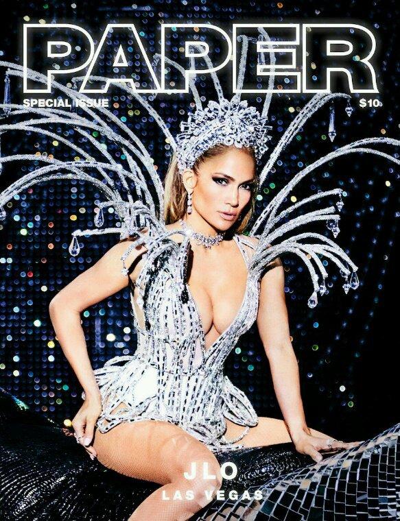 "Jennifer pour ""Paper Magazine"" 2017"