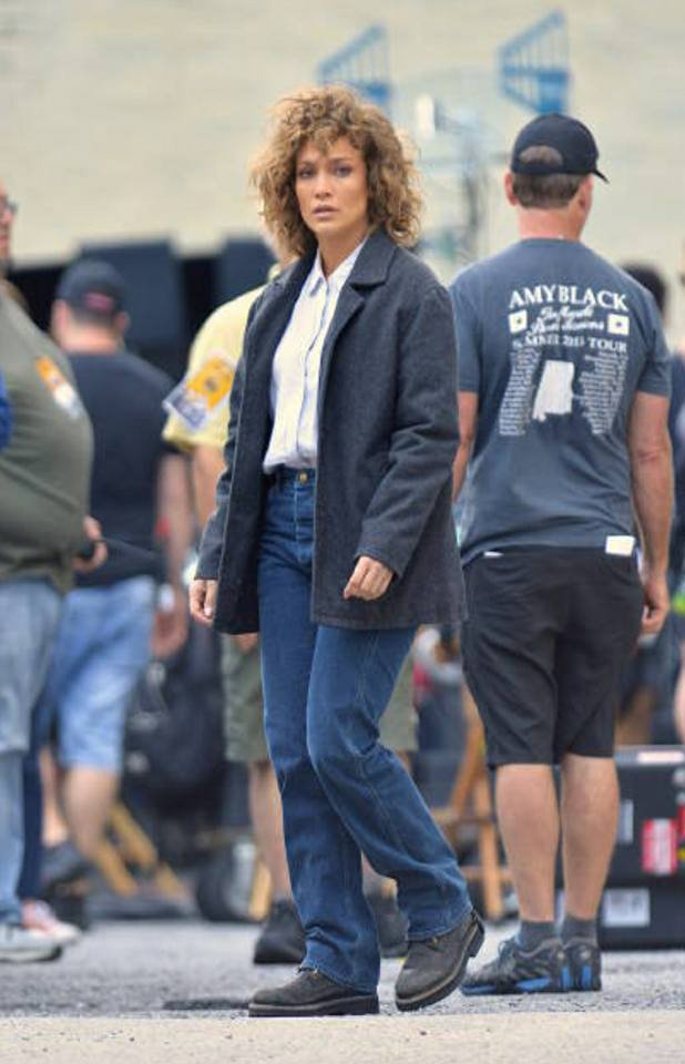 "Jennifer sur le set de ""Shades of Blue"" le 23.08.2017"