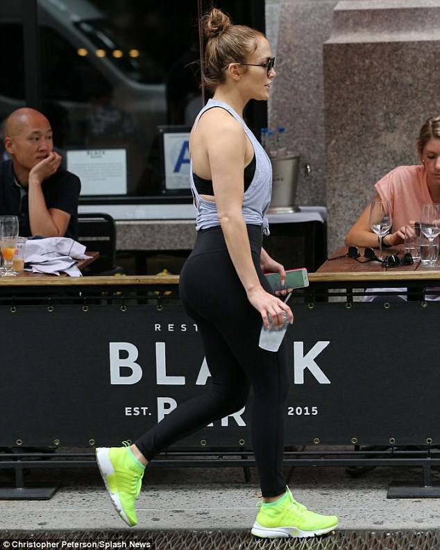 Jennifer à New York le 26.08.2017