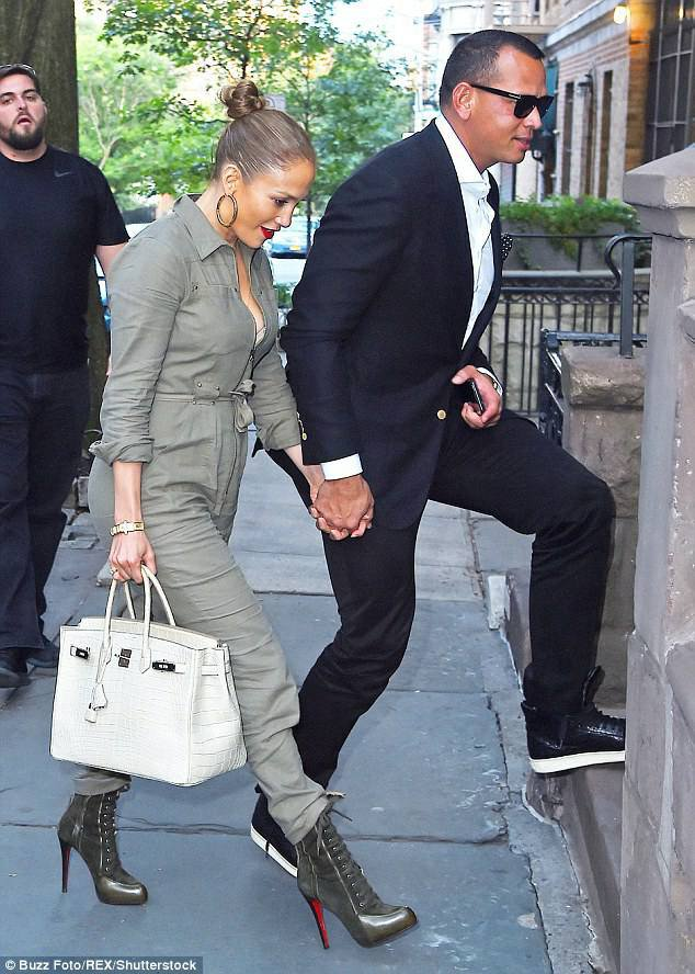 Jennifer & Alex à New York le 26.08.2017