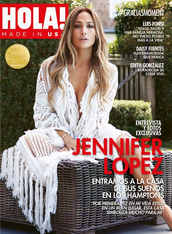"Jennifer for ""Hola ! Magazine "" Septembre 2017"