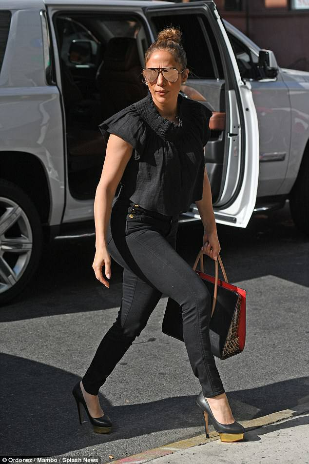 Jennifer à New York le 25.09.2017