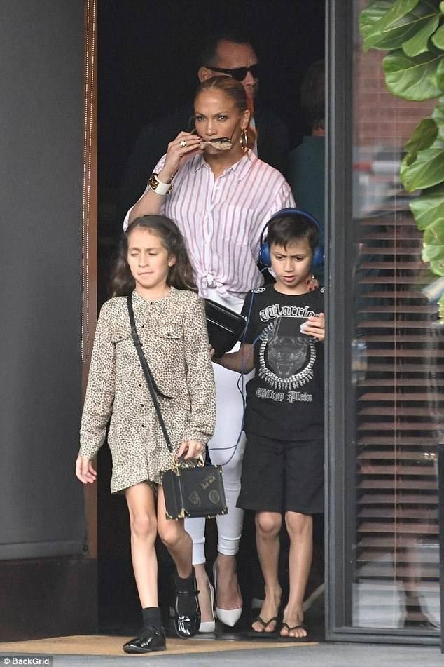 Jennifer & Alex le 06.10.2017 à Beverly Hills