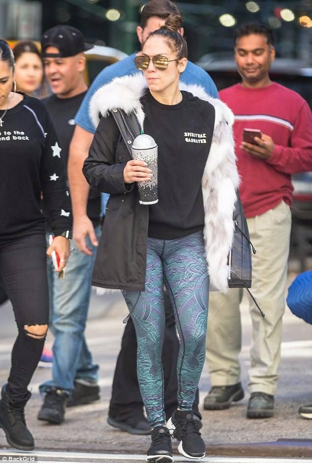 Jennifer à New York le 18.10.2017