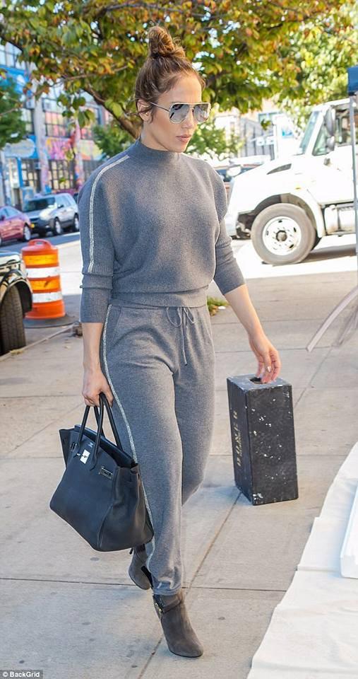 Jennifer à New York le 19.10.2017