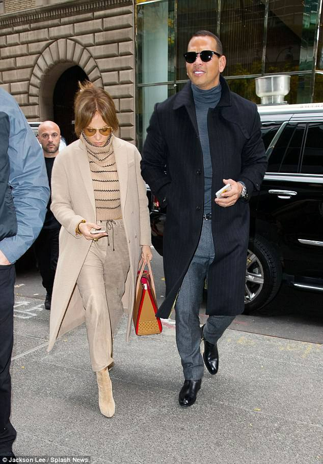 Jennifer & Alex à New York le 08.11.2017