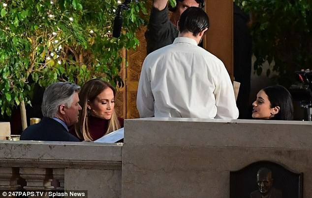 "Jennifer sur le set de ""Second Act"" le 20.11.2017"