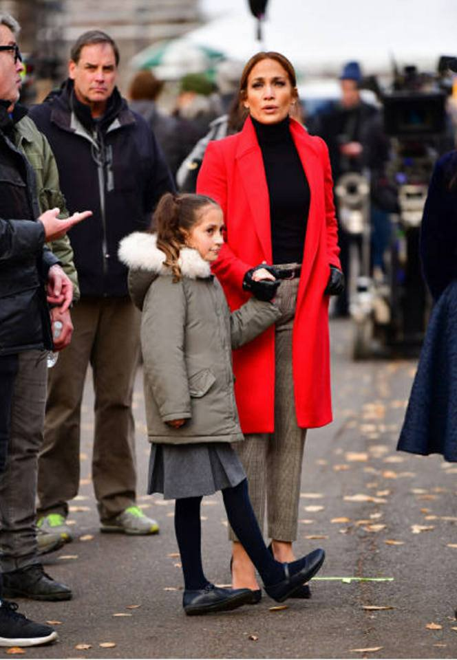 "Jennifer sur le set de ""Second Act"" le 04.12.2017"