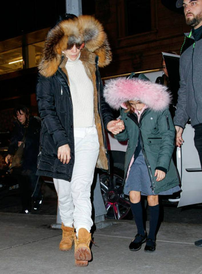 Jennifer & Emme à New York le 13.12.2017