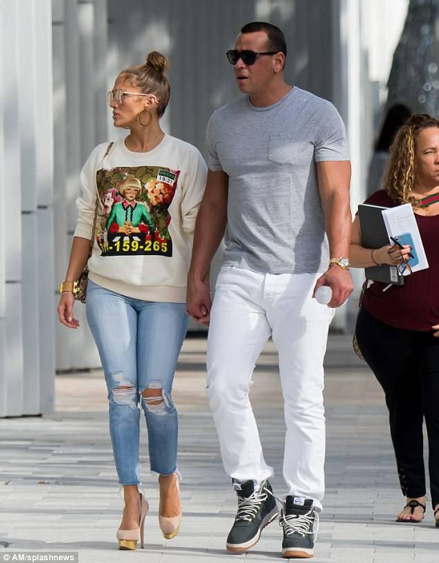 Jennifer & Alex à Miami le 23.12.2017