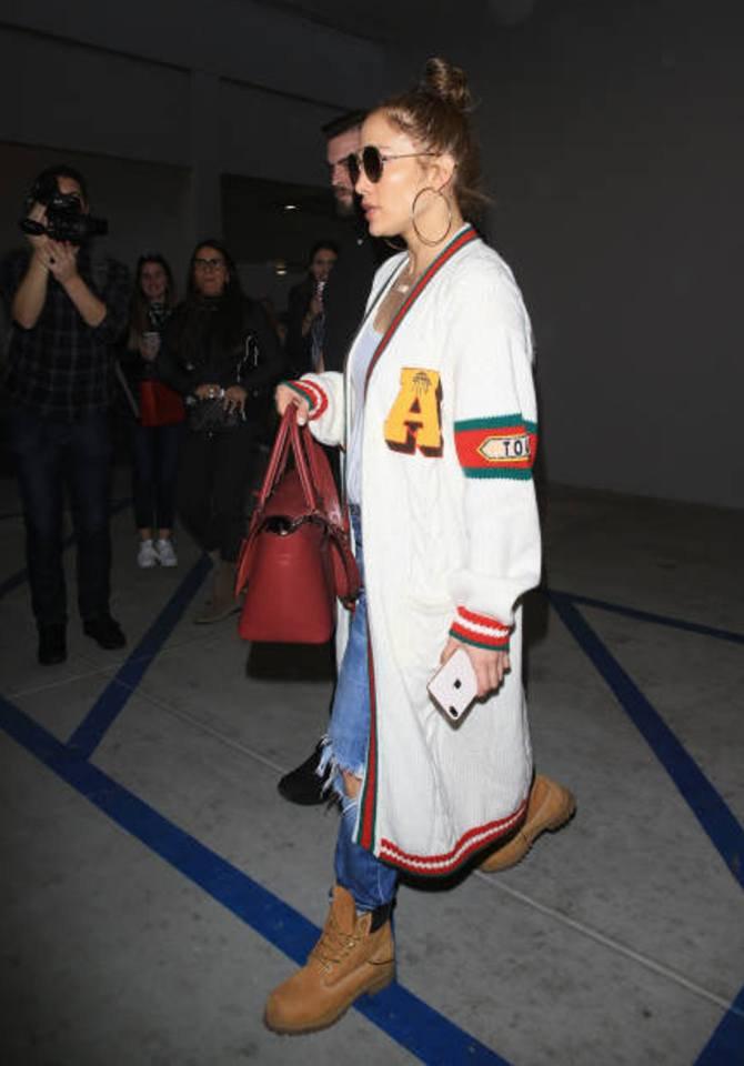 Jennifer & Alex à Los Angeles le 27.12.2017
