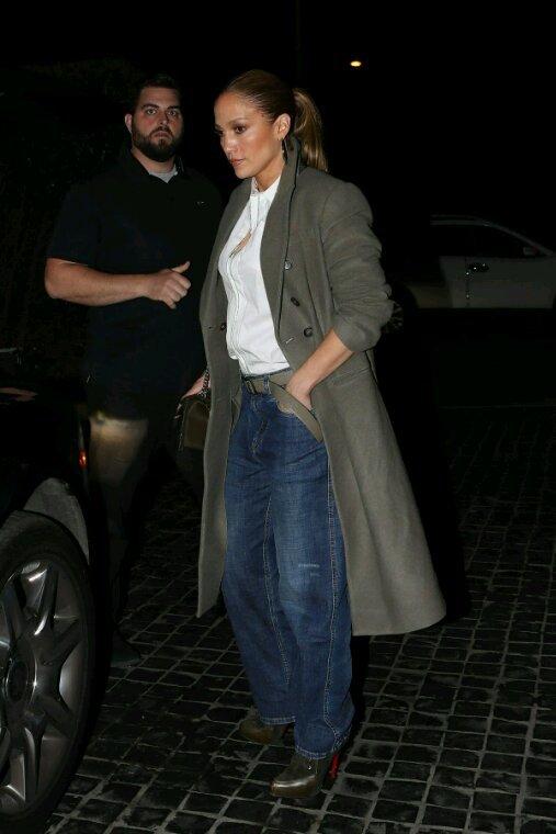 Jennifer & Alex à Los Angeles le 28.12.2017