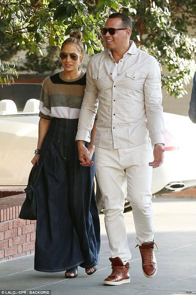 Jennifer & Alex à Beverly Hills le 29.12.2017