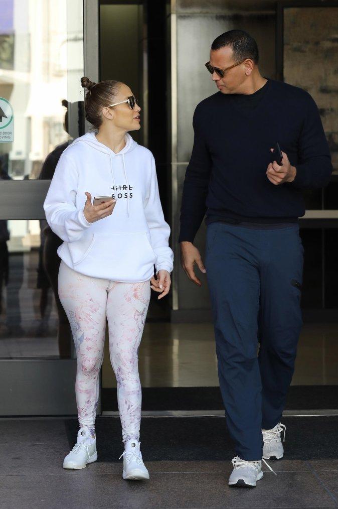 Jennifer & Alex le 04.01.2018 à Beverly Hills