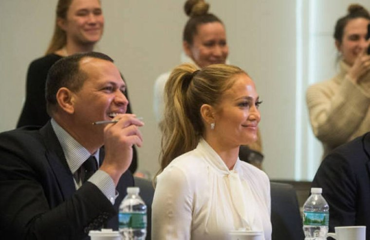"Jennifer & Alex Rodriguez à New York pour ""Project Destined"" le 04.03.2018"