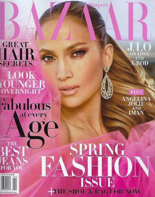 Harper's Bazaar US - Avril 2018