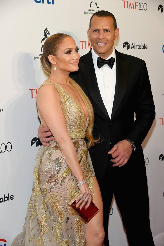 "Jennifer & Alex red carpet ""The Time"" 100 Gala à New York le 24.04.2018"