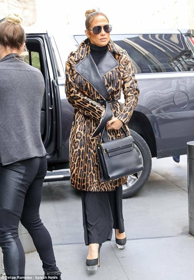 Jennifer à New York le 24.04.2018