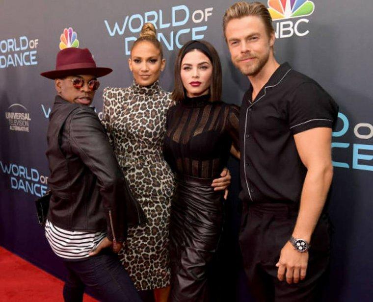 """Les juges de """"World Of Dance"""" à un événement en californie pour la saison 2 le 01.05.2018"""