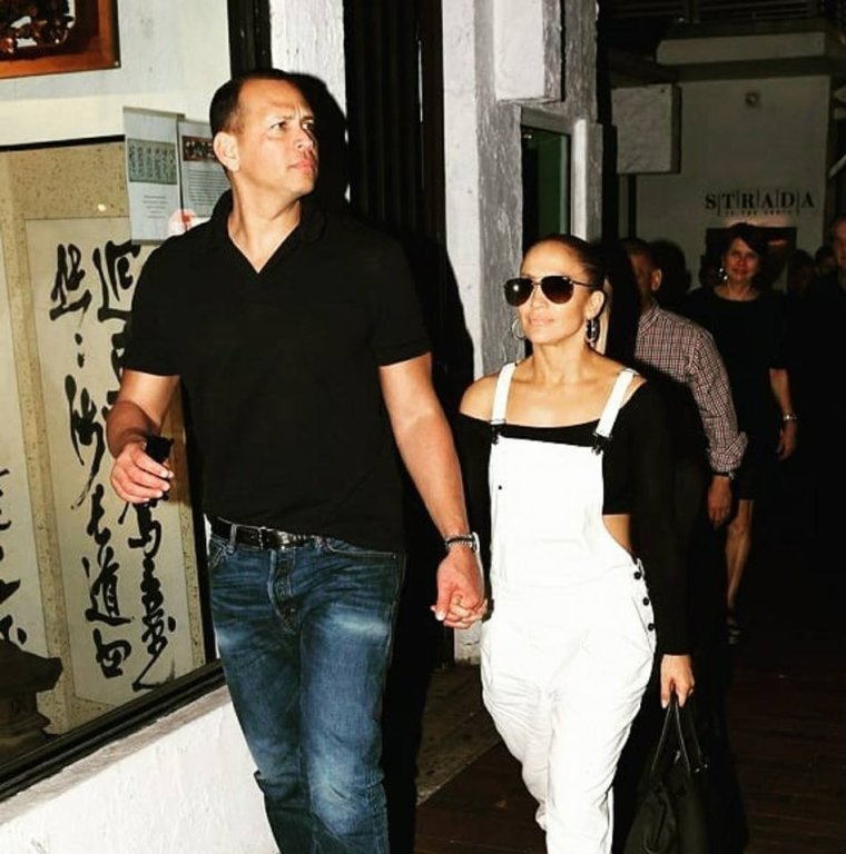 Jennifer & Alex à Miami le 04.05.2018