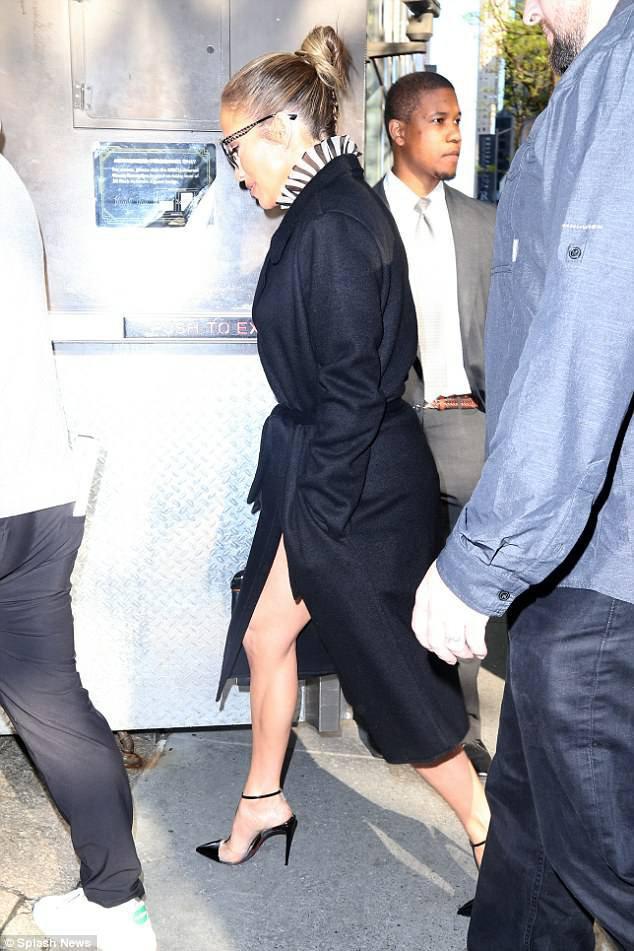 Jennifer à New York le 09.05.2018