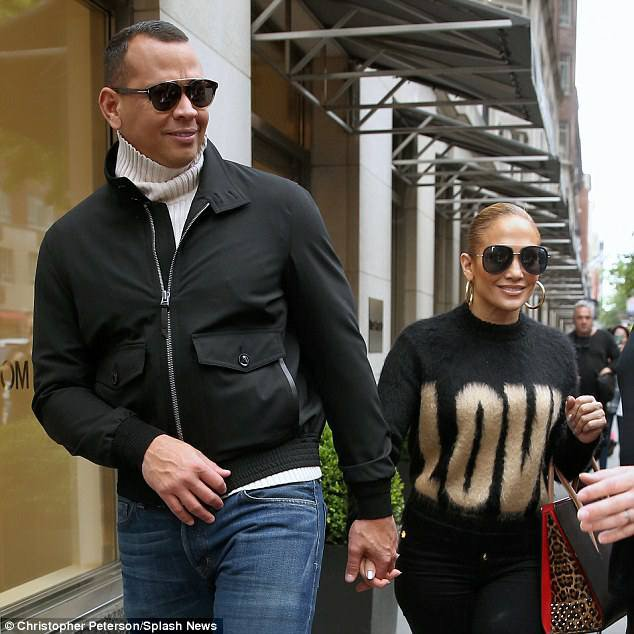 Jennifer & Alex à New York le 11.05.2018