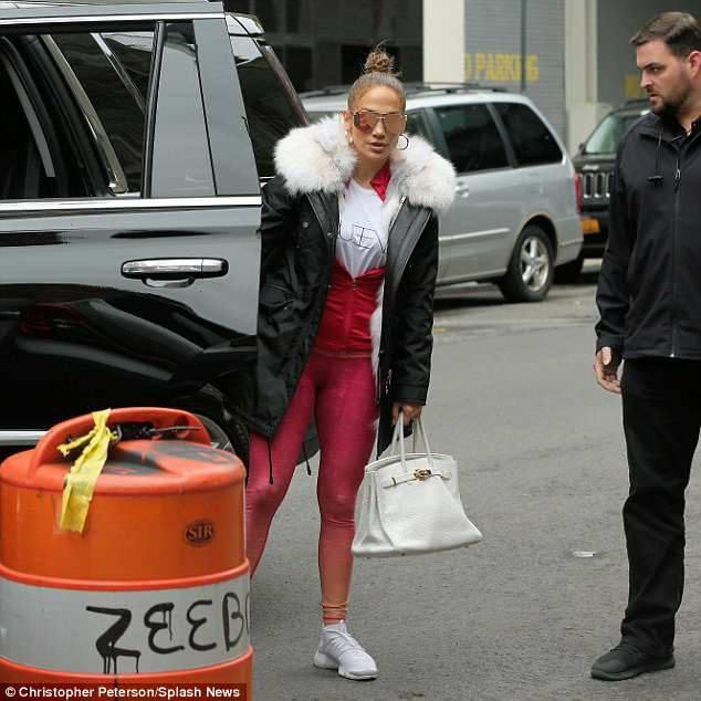 Jennifer à New York le 12.05.2018