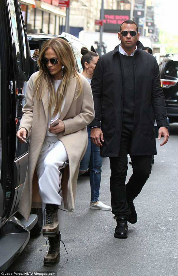 Jennifer & Alex à New York le 14.05.2018