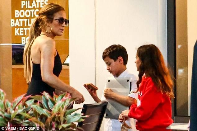 Jennifer à New York le 24.05.2018