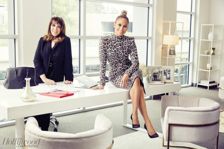 "Jennifer & Elaine Goldsmith-Thomas pour ""Hollywood Reporter - Mai 2018"