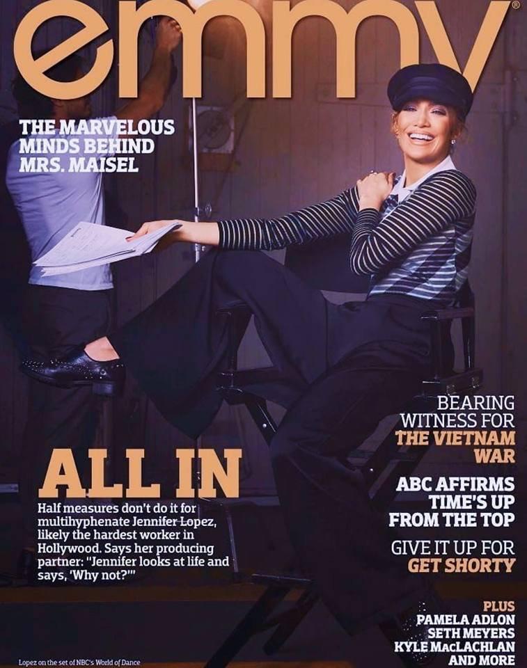 "Photoshoot pour ""Emmy Magazine"" - Juin 2018"