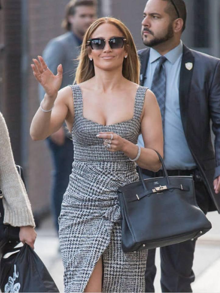 """Jennifer arrivant sur le plateau de """"JIMMY Kimmel"""" le 05.06.2018 à Los Angeles"""