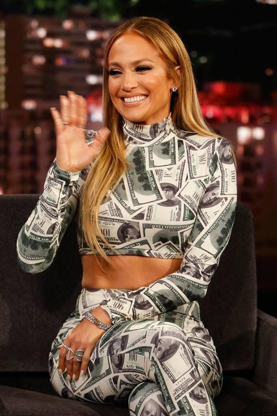 """Jennifer sur le plateau de """"Jimmy Kimmel Live"""" le 06.06.2018"""