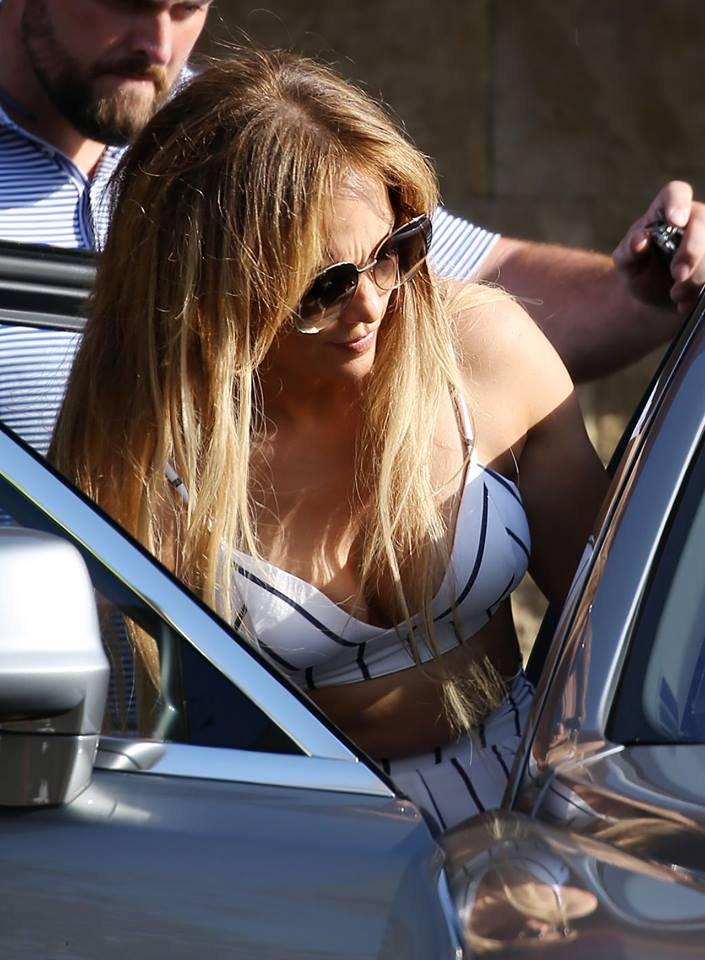 Jennifer à West Hollywood le 08.07.2018
