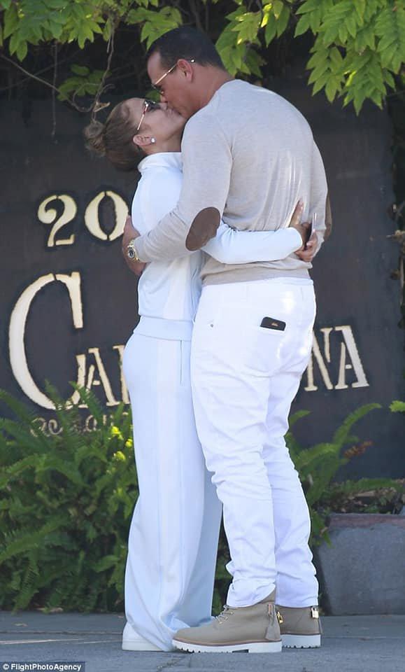 Jennifer & Alex à Los Angeles le 14.07.2018